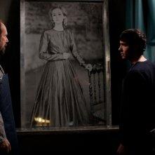 Daguerrotype: Tahar Rahim e Olivier Gourmet in una scena del film