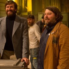 Free Fire: Armie Hammer con il regista Ben Wheatley sul set del film