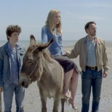 Les fils de Joseph: Victor Ezenfis, Fabrizio Rongione e Natacha Régnier in una scena del film