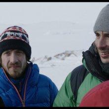 Le voyage au Groenland: Thomas Blanchard e François Chattot in una scena del film