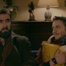 Marie et les naufragés: Eric Cantona e Damien Chapelle in una scena del film