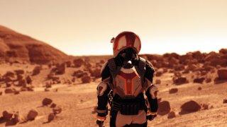 Mars: una spettacolare foto della miniserie