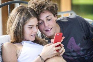 Slam - Tutto per una ragazza: Ludovico Tersigni e Barbara Ramella in un momento del film