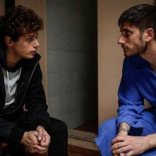 Slam - Tutto per una ragazza: Ludovico Tersigni e Luca Marinelli in una scena del film