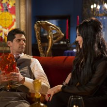 The Love Witch: Samantha Robinson e Robert Seeley in un'immagine del film