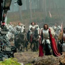 Transformers: The Last Knight, una foto dal set del film