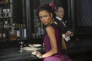 Westworld: una foto di Thandie Newton in Trompe L'Oeil