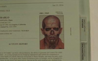 Suicide Squad: La scheda di Diablo