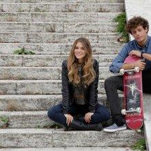 Slam - Tutto per una ragazza: Ludovico Tersigni e Barbara Ramella in un'immagine promozionale del film