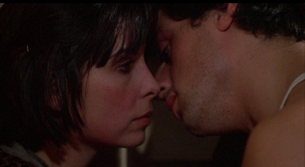 Talia Shire e Sylvester Stallone in Rocky
