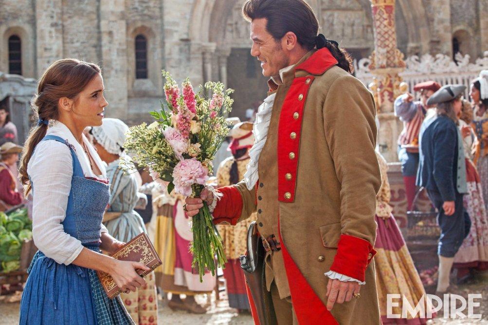 La Bella e la Bestia: Emma Watson e Luke Evans interpretano Belle e Gaston