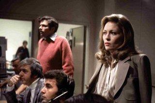 Quinto Potere: una scena del film con Faye Dunaway