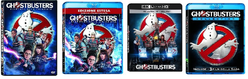 Le cover di Ghostbusters