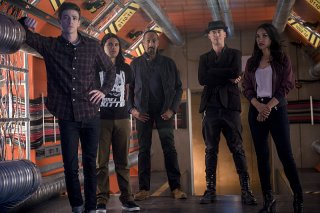 The Flash: i protagonisti in un'immagine dell'episodio Killer Frost