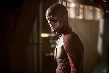 The Flash: l'attore Grant Gustin in Killer Frost