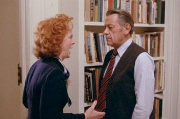Quinto Potere: William Holden e Beatrice Straight in una scena