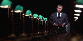 Quinto Potere: Ned Beatty in una scena