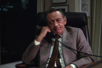 Quinto Potere: William Holden in una scena