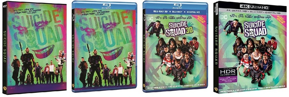 Le cover di Suicide Squad