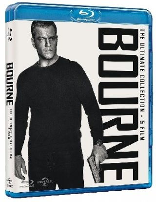 La cover di Bourne Collection