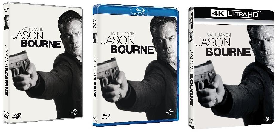 Le cover di Jason Bourne