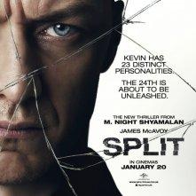 Split: la locandina ufficiale inglese