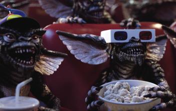 Gremlins, una scena del film