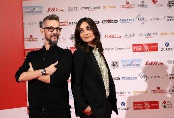 La verità, vi spiego, sull'amore: Ambra Angiolini e Max Croci alle giornate professionali del cinema di Sorrento