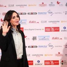 La verità, vi spiego, sull'amore: uno scatto di Ambra Angiolini alle giornate professionali del cinema di Sorrento