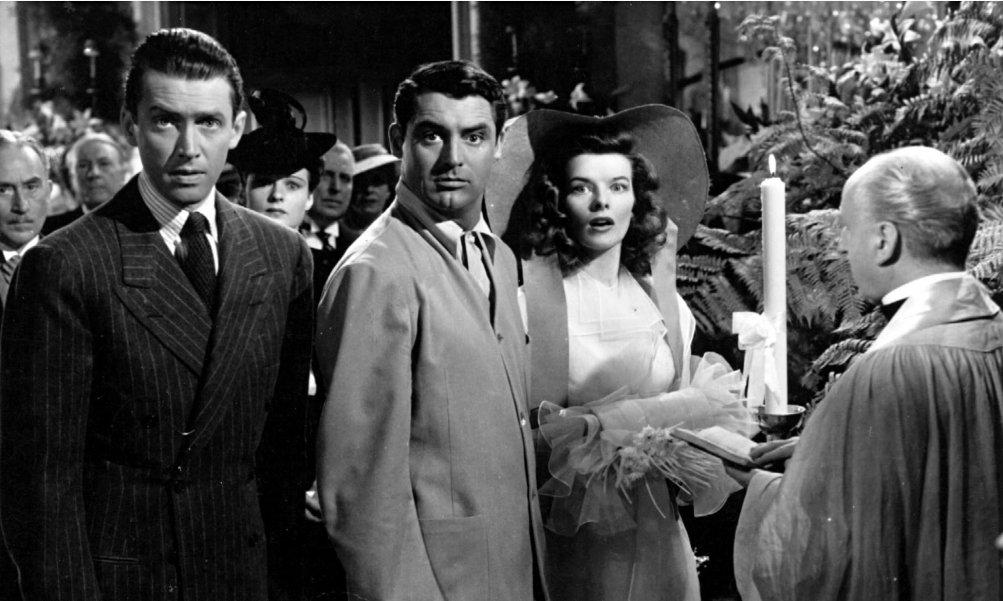 Scandalo a Fladelphia, in scena Cary Grant e Katharine Hepburn
