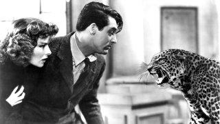 Katharine Hepburn e Cary Grant in una scena di Susanna