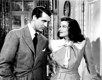 Scandalo a Fladelphia, la coppia Cary Grant e Katharine Hepburn