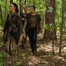 The Walking Dead: Nicola Barre, Briana Venskus e Alanna Masterson in Swear