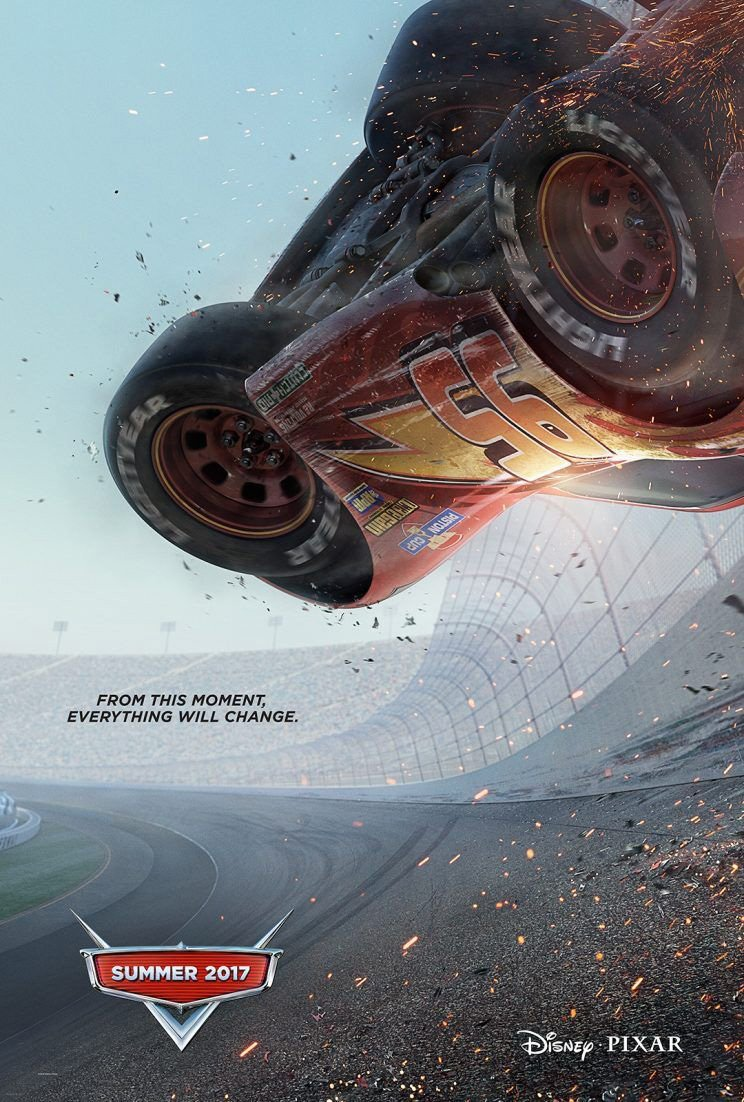 Cars 3: il poster del film