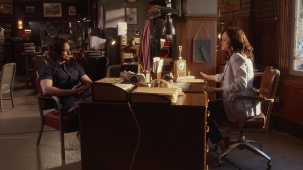 Una Mamma per amica: di nuovo insieme,  Milo Ventimiglia e Alexis Bledel in una scena
