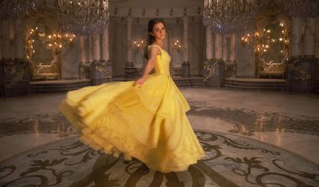 La Bella e la Bestia: Emma Watson in una foto del film