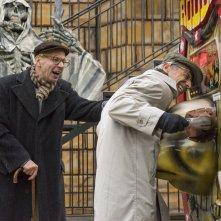 Fuga da Reuma Park: Giovanni Storti e Aldo Baglio in un'immagine del film