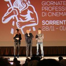 Il permesso: Claudio Amendola e Luca Argentero a Sorrento per le giornate professionali di cinema
