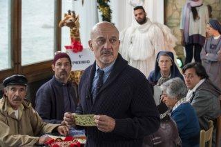 Non c'è più religione: Claudio Bisio e Alessandro Gassman in un momento del film