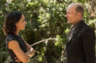 Westworld: Tessa Thompson ed Ed Harris in The Well-Tempered Clavier