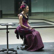Westworld: l'attrice Thandie Newton in The Well-Tempered Clavier