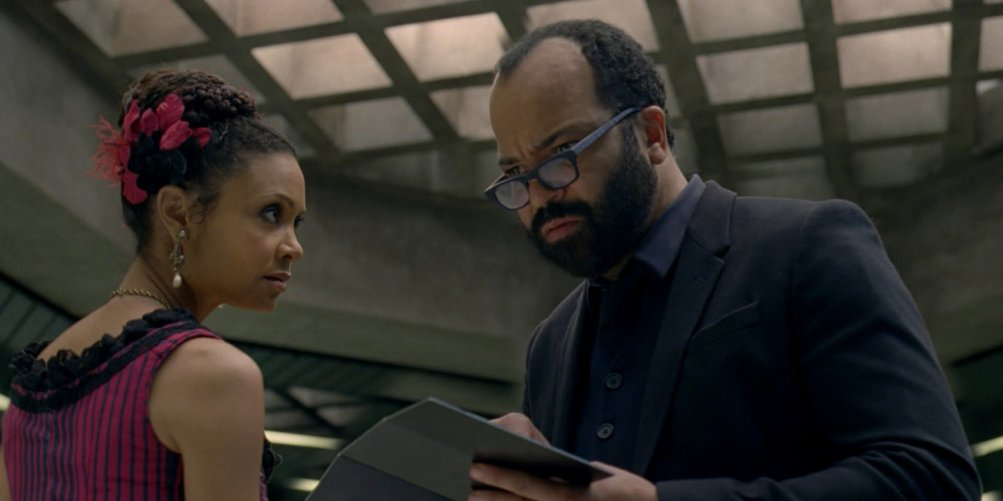 Westworld: Thandie Newton e Jeffrey Wright in The Well-Tempered Clavier