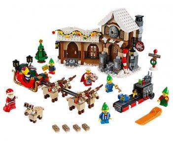 La bottega di Babbo Natale Lego