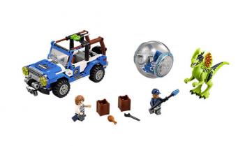 Lego Jurassic World: l'agguato del Dilofosauro