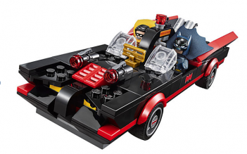 La Batmobile di Lego Batman Classic