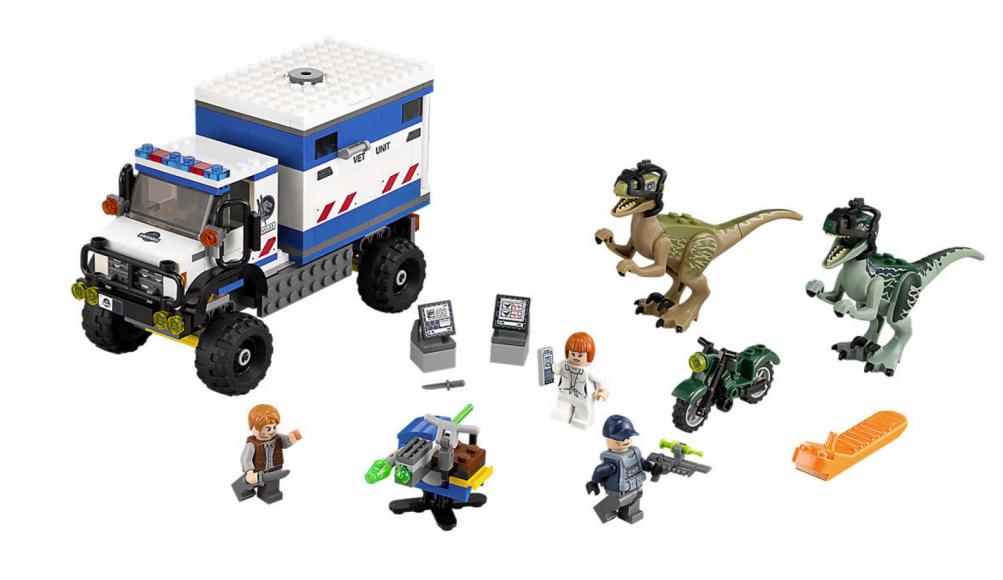 Lego Jurassic World, l'attacco dei raptor