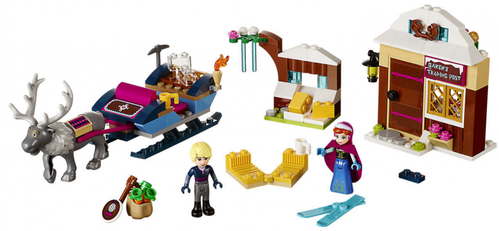 Lego Disney - Anna e Kristoff