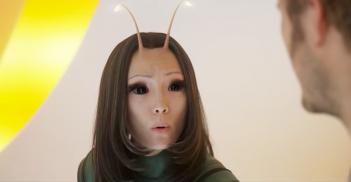 Guardiani della galassia Vol.2: Pom Klementieff nei panni di Mantis