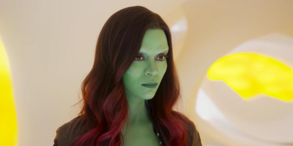 Guardiani della galassia Vol.2: Zoe Saldana nei panni di Gamora