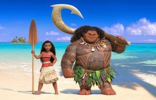 Moana: la principessa Moana in un'immagine del film
